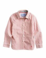 Joules Girls' Striped 100% Cotton T-Shirts, Top & Shirts (2-16 Years)