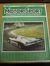 Moteur jul-1983 Racing magazine: Sport Automobile-Cover IMAGE... Le Mans, the Winnin