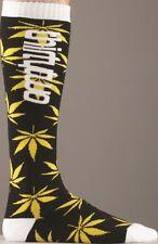 2013 NWT MENS THIRTYTWO COMBAT SOCKS $30 S/M Black snowboard coolmax