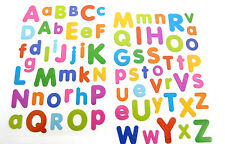 Coloured Alphabet Letters Stickers childrens card making labels for kids LS46