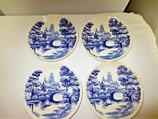 """Lot 4 Older Nasco Hand Painted Lakeview Japan Marked 6"""" Plates-N in Laurel"""
