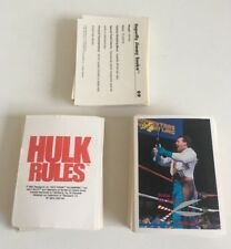 WWF - 1990 - Classic Games - 113 Different cards
