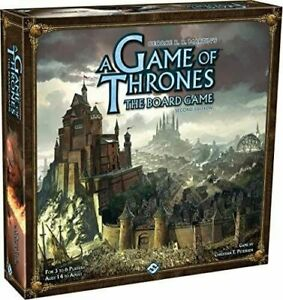 A Game of Thrones The Board Game: 2nd Edition New & Sealed Free Postage