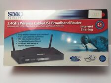 SMC Networks 2.4 GHz Wireless Cable/DSL Broadband Router 4 Port New Sealed