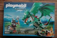 Playmobil Knights Chevalier avec grand dragon vert 6003