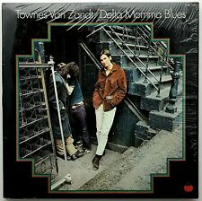 "TOWNES VAN ZANDT ""Delta Momma Blues"" RARE Vinyl LP - 1978 Tomato - EX / VG++"