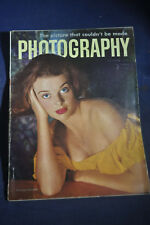 1952 Photography Magazine *Philippe Halsman*Fire*Justice William O Douglas*