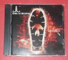 De/Vision - Monosex -- CD / Pop