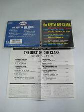 THE BEST OF DEE CLARK JAPAN IMPORT MONO OOP CD ROCK FUNK SOUL RHYTHM BLUES