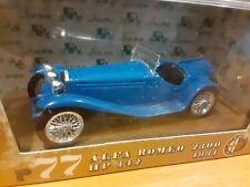 Vintage  1931 Alfa Romeo 2300 - 1/43 Brumm Diecast Model  # 77