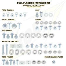 Bolt Full Plastics Fastener Kit Yamaha YZF 450 YZ450F 10 11 12 13 NEW