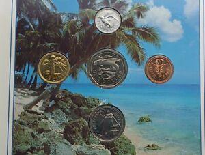1989 Barbados Brilliant Uncirculated coin set