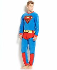 New Superman Briefly Stated  Mens One-Piece Pajama Suit