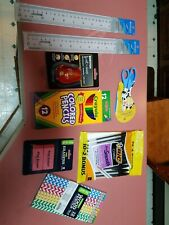 Back to School Essentials Writing and crafts  Supplies Kit Bundle