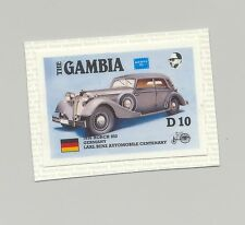 Gambia #627, Automobiles, Borch 853, Ameripex 1v imperf chromalin proof mounted