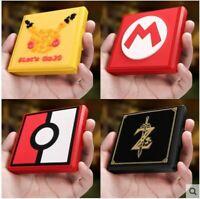 Game Card Case Storage Holder Organizer Nintendo Switch Portable Mario Minecraft