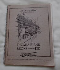 THOMAS BLAND & SONS GUNMAKERS LTD TRADE CATALOGUE NO.57 GUNS RIFLES PISTOLS