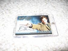 Harry Potter Half Blood Prince Autograph Card David Thewlis Remus Lupin