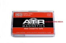 ATR MDS Audio Cassette Tape C-90 NEW Manufacture! Type 1 120 uS 45 Min Per Side