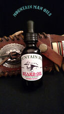 MOUNTAIN MAN OILS BEARD OIL SANTA WOODS  (COOKIE SCENT)100% NATURAL ORGANIC