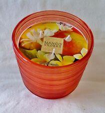 1 Mango Shores Scented Candle Bath & Body Works 14.5 Oz