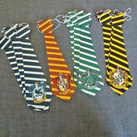 12 pc Universal Studios Harry Potter Paper Tie House Ties Dress Up Play Costume