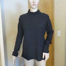 Women's Standard James Perse black mock neck long sleeve shirt size 4 NWT $125