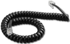 25 Black 9' Vodavi Infinite IN9011 IN9012 IN9014 IN9015 71 Phone Handset Cords