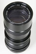 Vivitar 70-150mm f3.8 lens for M42 Pentax screw Mount camera