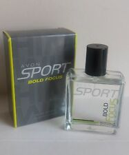 AVON SPORT BOLD FOCUS EAU DE TOILETTE  50ML  NEW BOXED