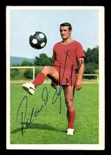 Roland Kiefaber 1 FC Kaiserslautern Bergmann SB 1967-68 ORIG Sign + a 114724