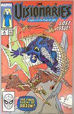 Visionaries #6 star Marvel Comics 1987/88 bright 8.5+
