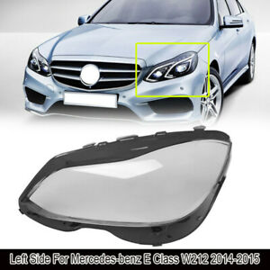 Clear Headlight Lens Cover (Left Side) for Mercedes-benz E Class W212 2014-2015