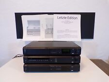 Komplett Anlage Braun Atelier HiFi R2 CD2/3 C2/3, wie Last Edition, schwarz, TOP