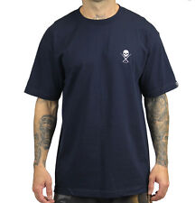 Sullen Clothing Standard Issue Mens Tee - Navy/White Tattoo Clothing Art Coll...