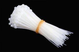 10/100/500 Hasta 1000 Pcs . Bridas Profesional Industria Calidad Natural / Negro
