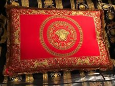 "VERSACE MEDUSA PILLOW CUSHION LARGE 26"" NEW in BAG ITALY BEST PRICE SALE"