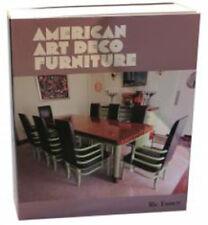 American Art Deco Furniture by Ric Emmett Deskey, Frankl, Weber, Rohde, Hoffmann