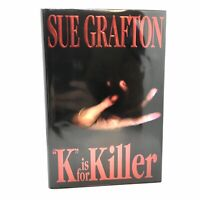 1st Edition/1st Printing SIGNED Fine/Fine K is For Killer Sue Grafton