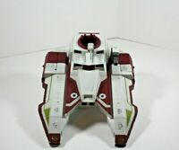 Star Wars Republic Fighter Tank Red 2009 Incomplete