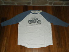 LUCKY JEANS T-SHIRT YOU CAN'T BUY HAPPINESS BUT YOU CAN BUY A MOTORCYCLE X-LARGE