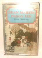 Dean Martin Peggy Lee White Christmas Cassette Tape NWOT New Capitol 4XL 9237