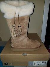 Uggs Girl Boots W Plumdale 1894 W/Che ret$260 sz 5
