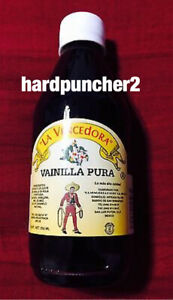 1 La Vencedora Pure Mexican Vanilla Extract Glass 8.45oz