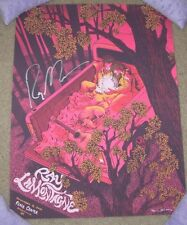 RAY LAMONTAGNE Autographed Signed concert gig poster GREENVILLE 11-4-14 J Flames