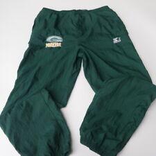 Vintage Green Bay Packers NFL Football Nylon Wind Pants Bottom Mens Size Medium