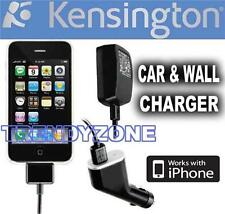 KENSINGTON CAR AND WALL CHARGER FOR IPHONE AND IPOD K33452AU