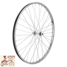 "WHEEL MASTER  26"" x 1-3/8""  STEEL CHROME FRONT WHEEL"