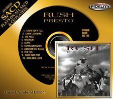 RUSH CD - PRESTO [HYBRID SACD - DSD](2014) - NEW UNOPENED