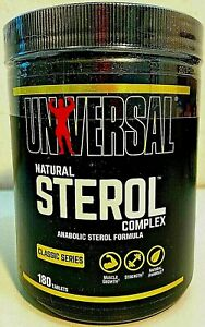 Universal Nutrition NATURAL STEROL COMPLEX 'Classic Series' - 2 Sizes - 06/2024